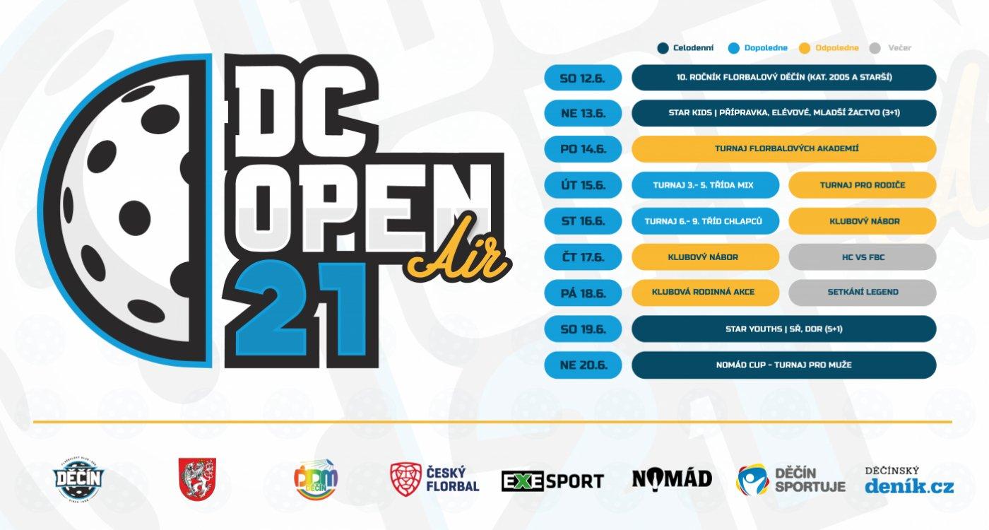12-20.6. otevírá bránu DC OPEN 21, buď u toho